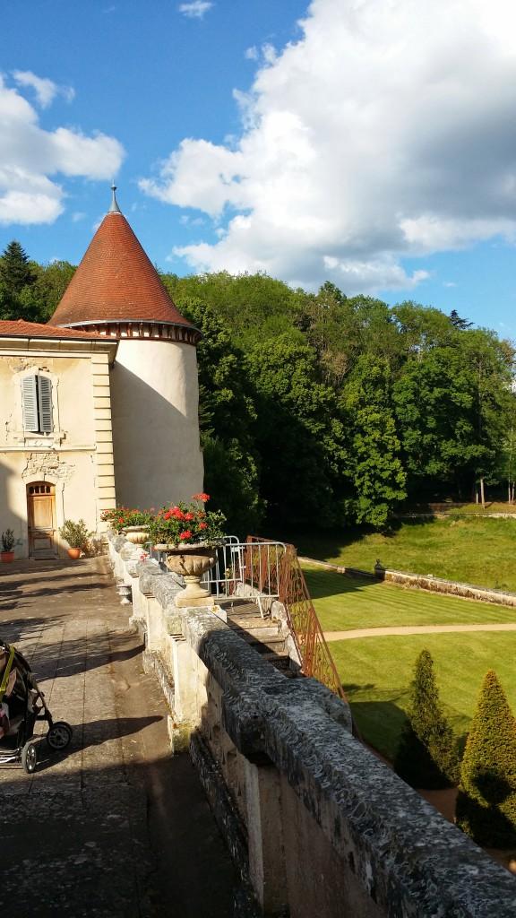 Château de Pramenoux - Vue Extérieure